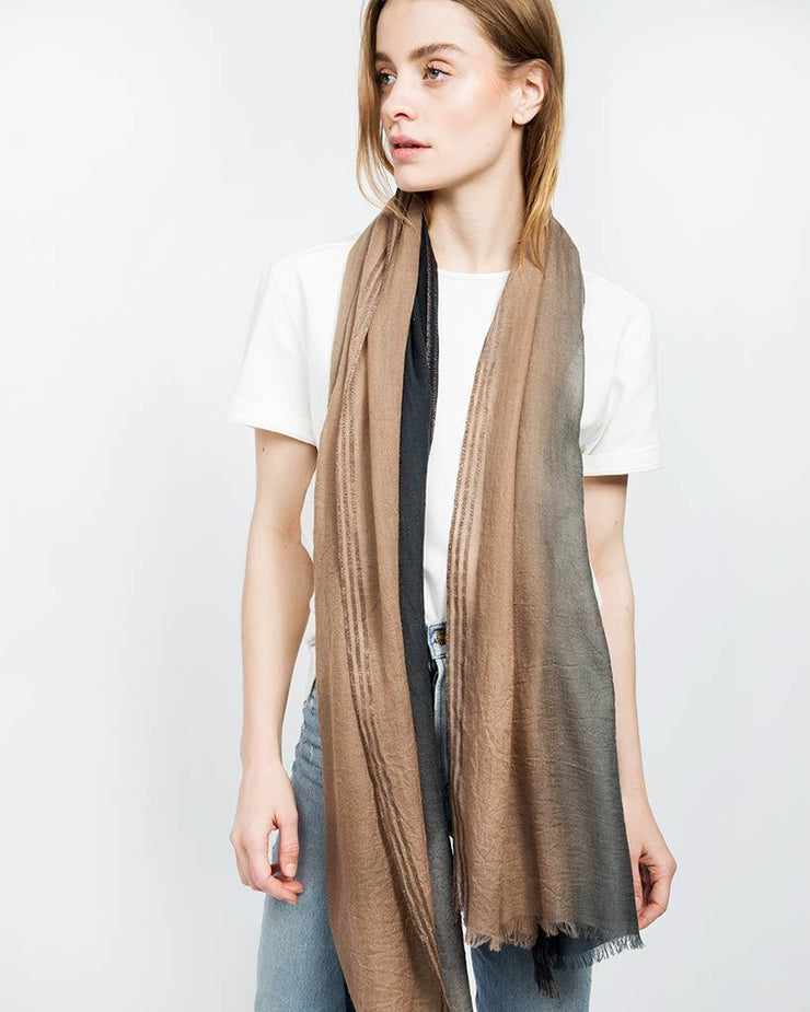 Cashmere Ombre Lightweight Scarf