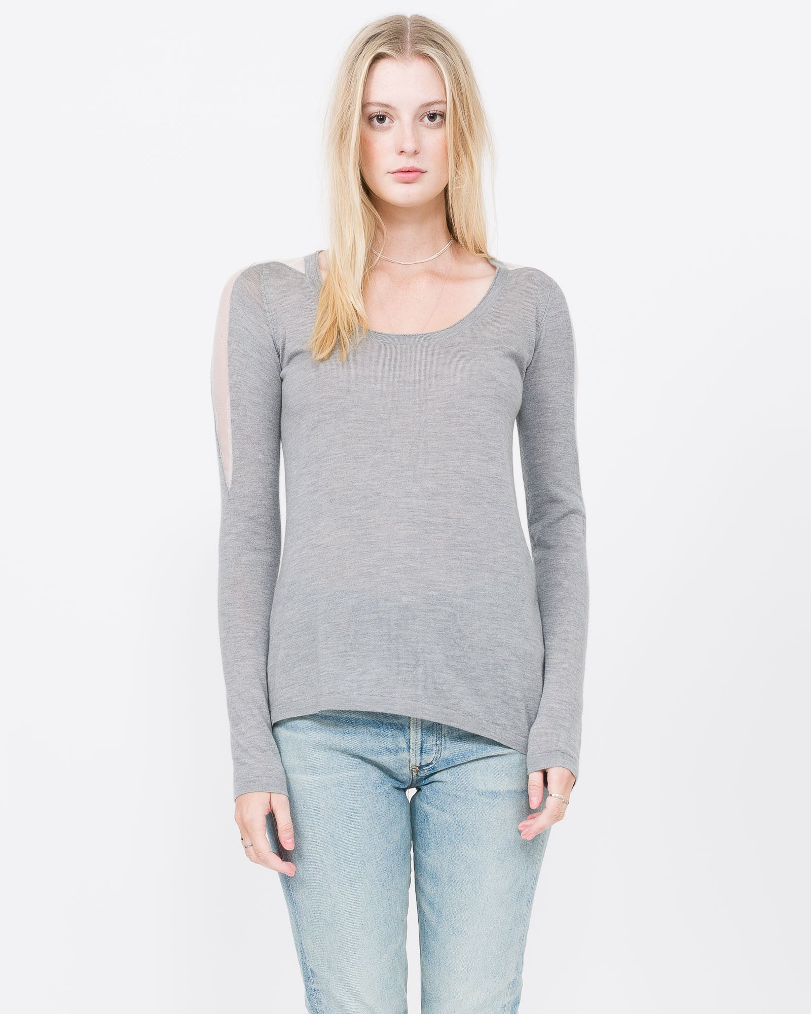 Julie Asymmetrical Sweater