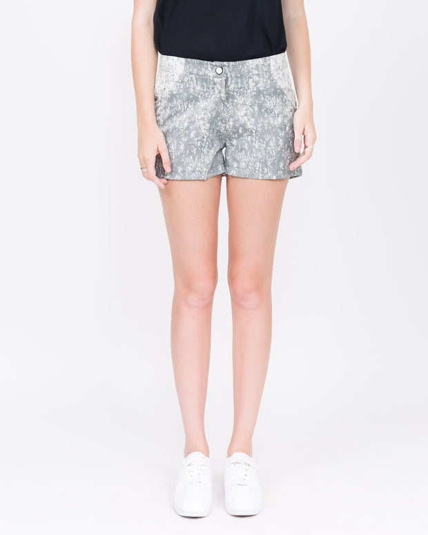 Jade Paneled Short