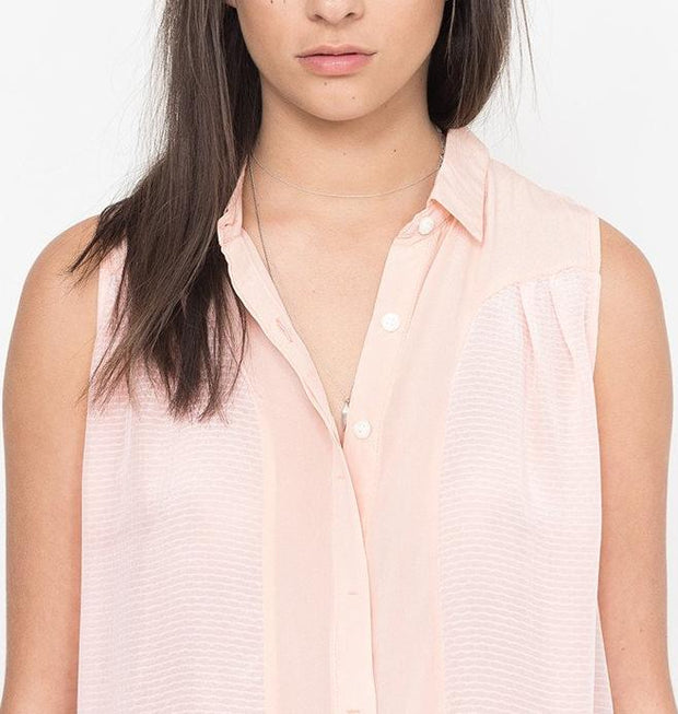 Greta Button Up