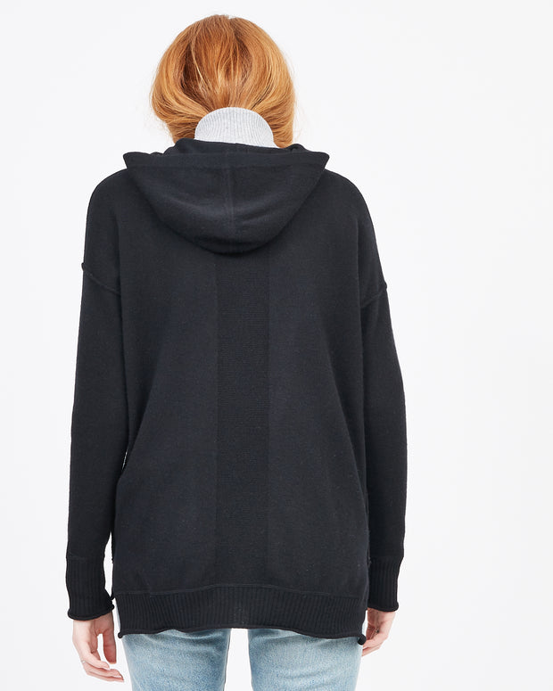 cashmere hoodie pullover