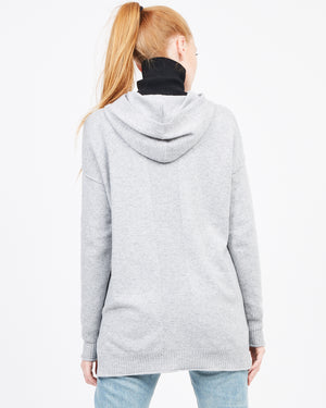 Heather Grey Hood