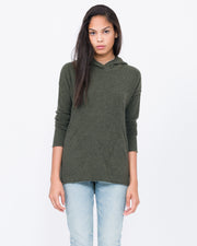Hooded Pullover with Pockets