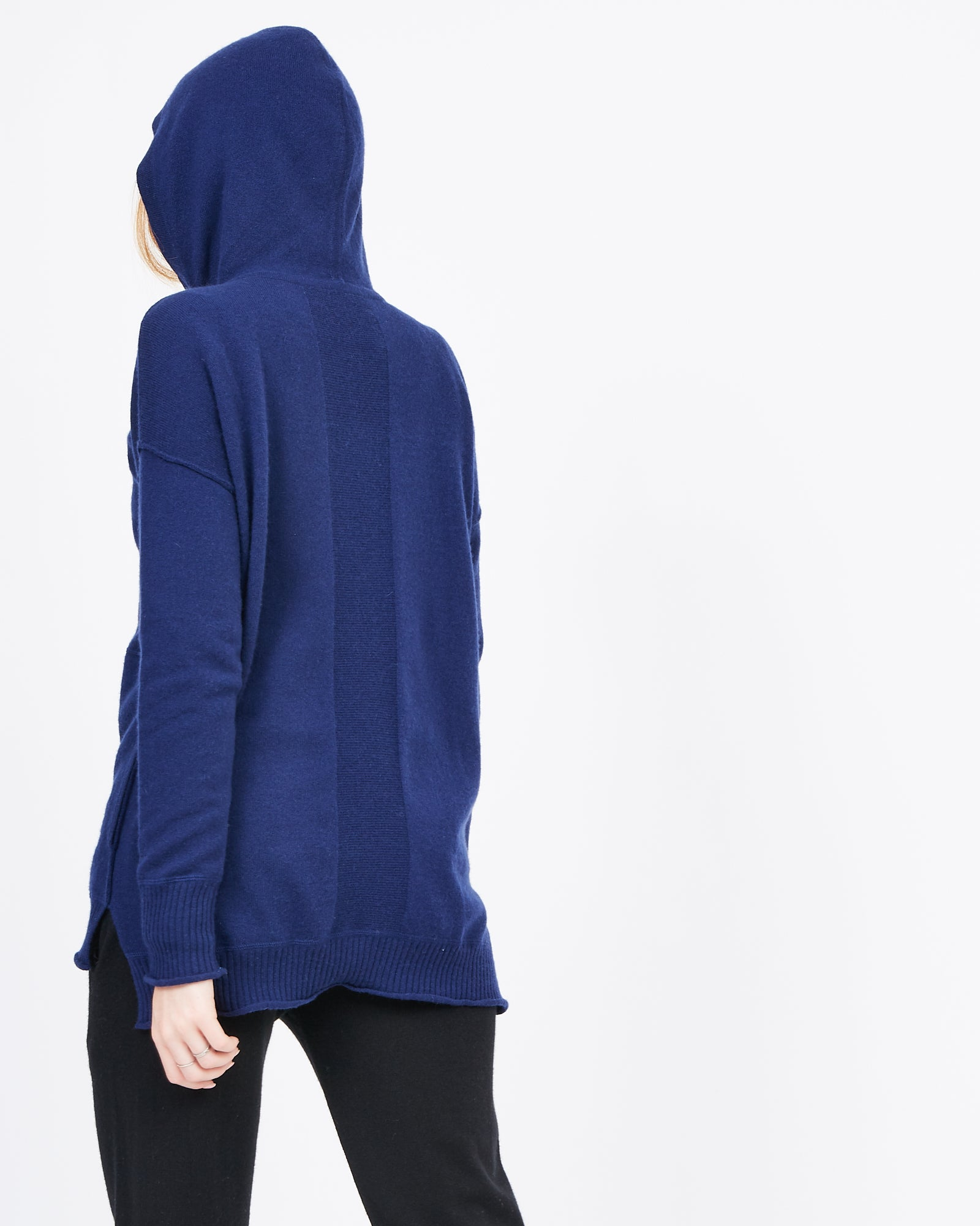 navy cashmere knit