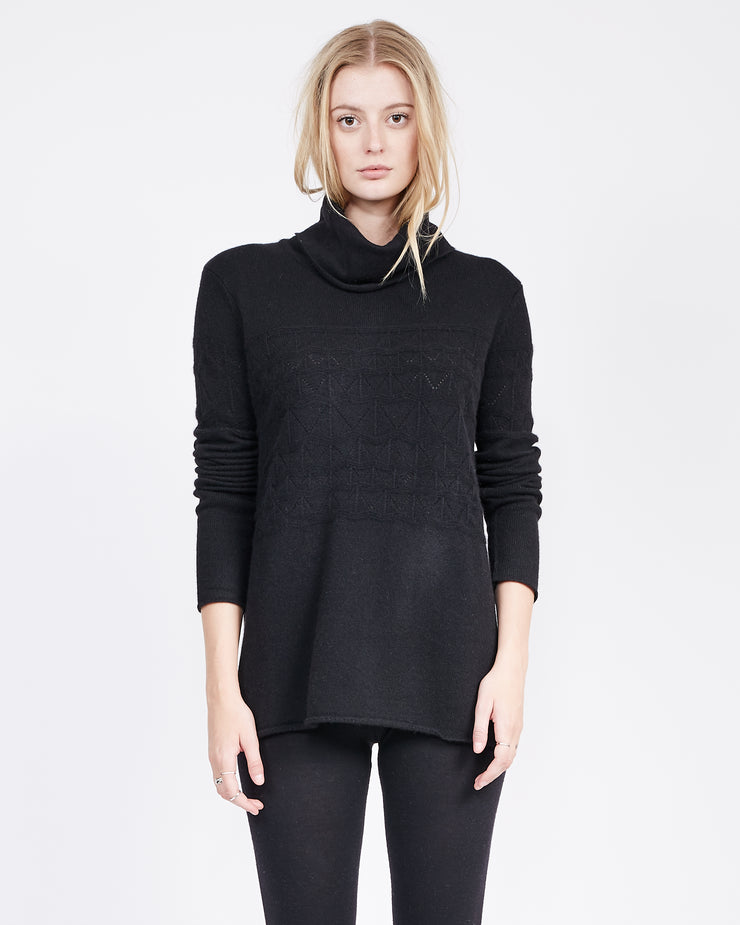 Slouchy Turtle neck tunic