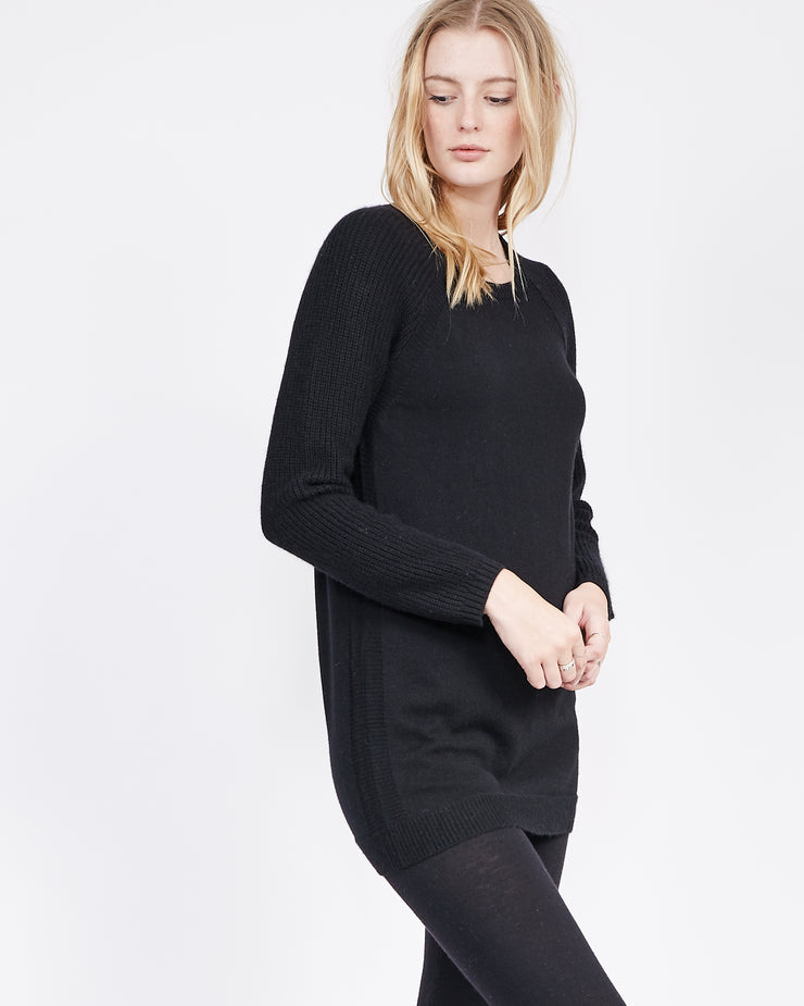 Raglan Sleeve Cashmere Sweater