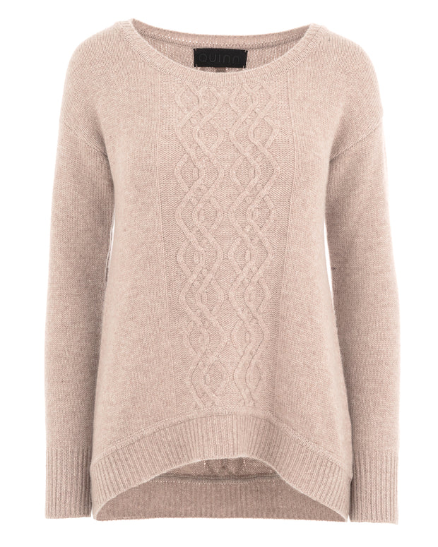 Edana Cashmere Cable Sweater