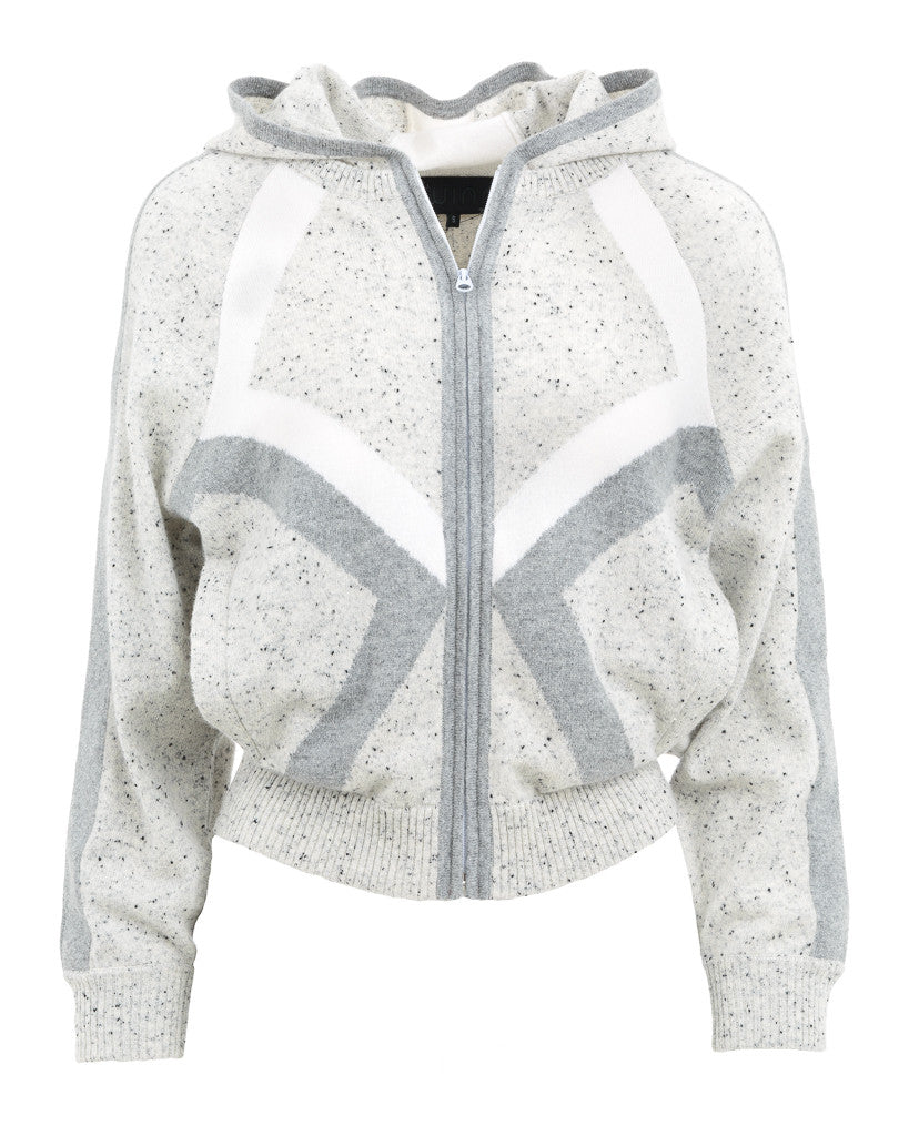 Anka Dodecahedron Intarsia Zip Up