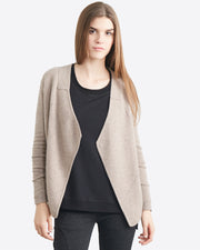 Jules Cashmere Cardigan with Pointelle Detail
