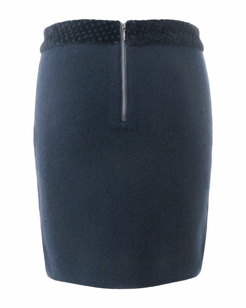 Laurel Mixed Media Pencil Skirt