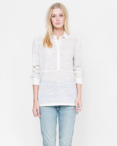 Alula Lace Tunic Button Up