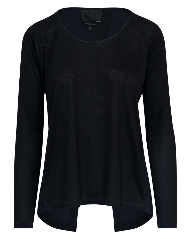 Alexis Open Back Raglan Top