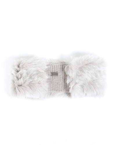 cashmere fur headband