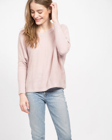 Boyd V-Neck Cape Sweater