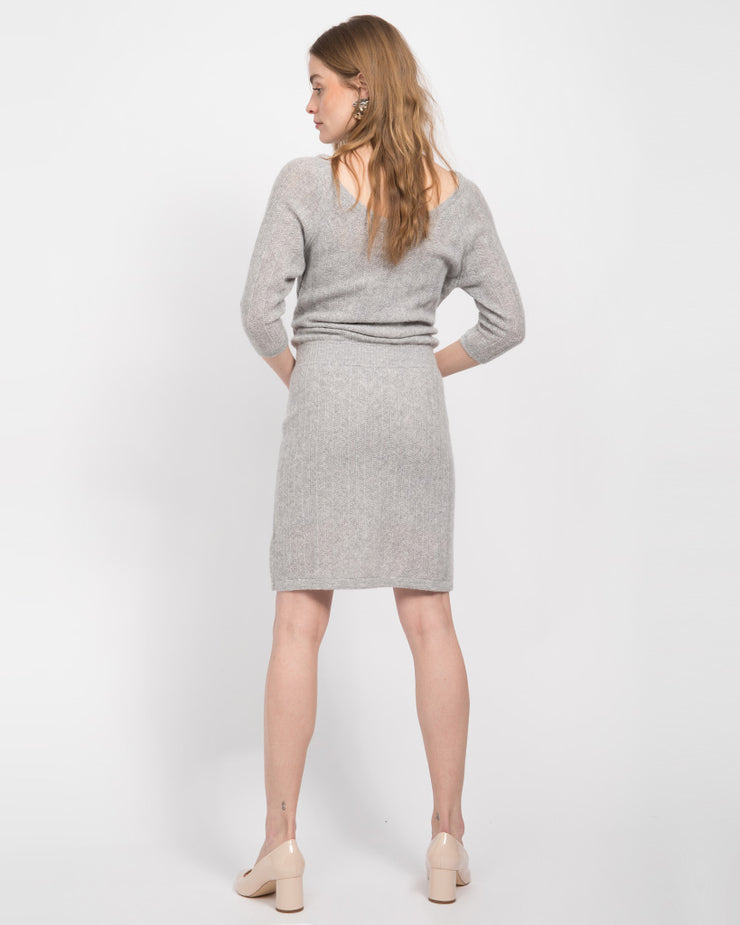 Sherman Cashmere Dolman Sleeve Dress