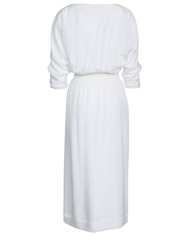 Katy Dolman Sleeve Rib Trim Dress