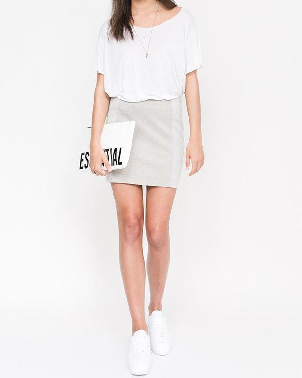 Dullin Paneled Skirt