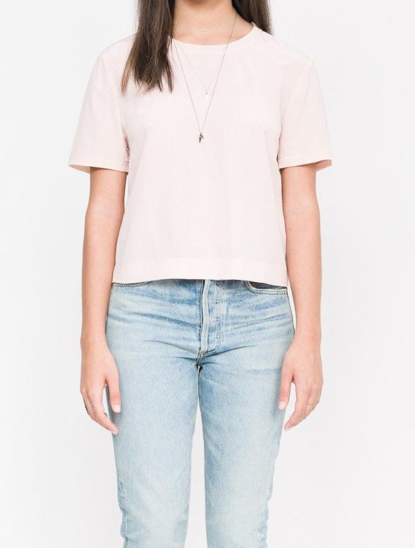 Willie Solid Silk Tee