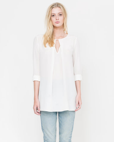 Walt Pleated Tunic Blouse