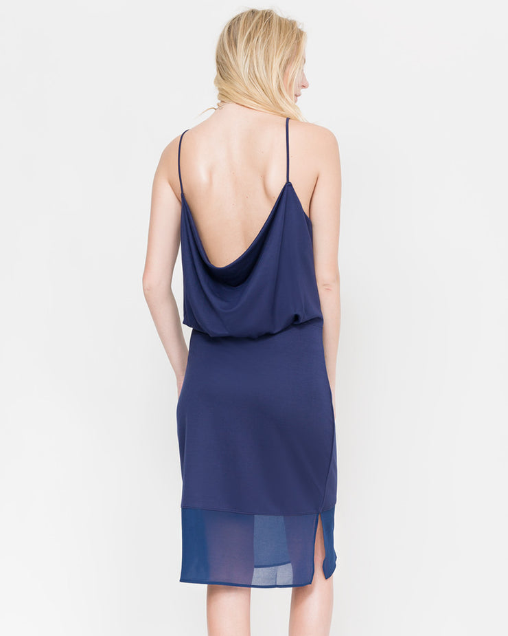 Grant Paneled Spaghetti Strap Dress