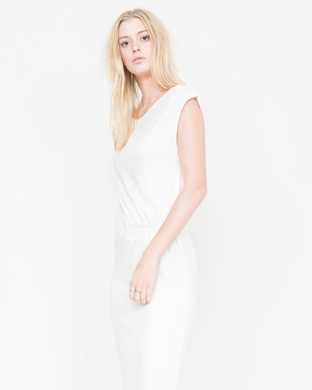 Park Asymmetric Off The Shoulder Dress
