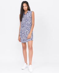 Dillard Printed Button Down Dress