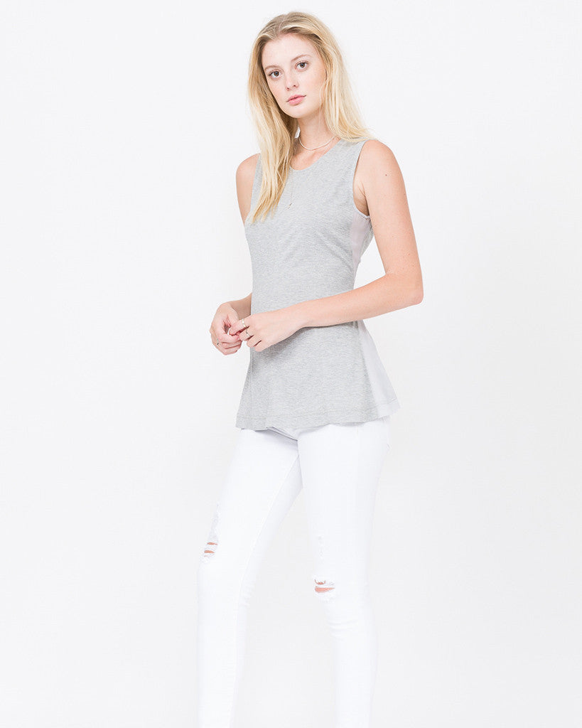 Quincy Princess Seamed Muscle Tank