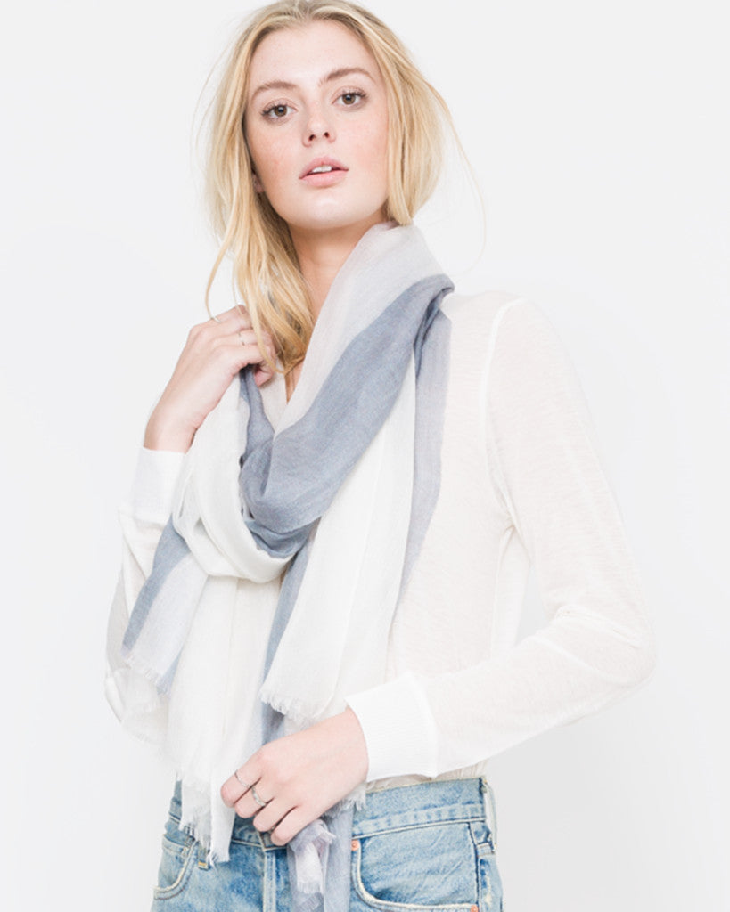 ACCESSORIES - Striped Scarf