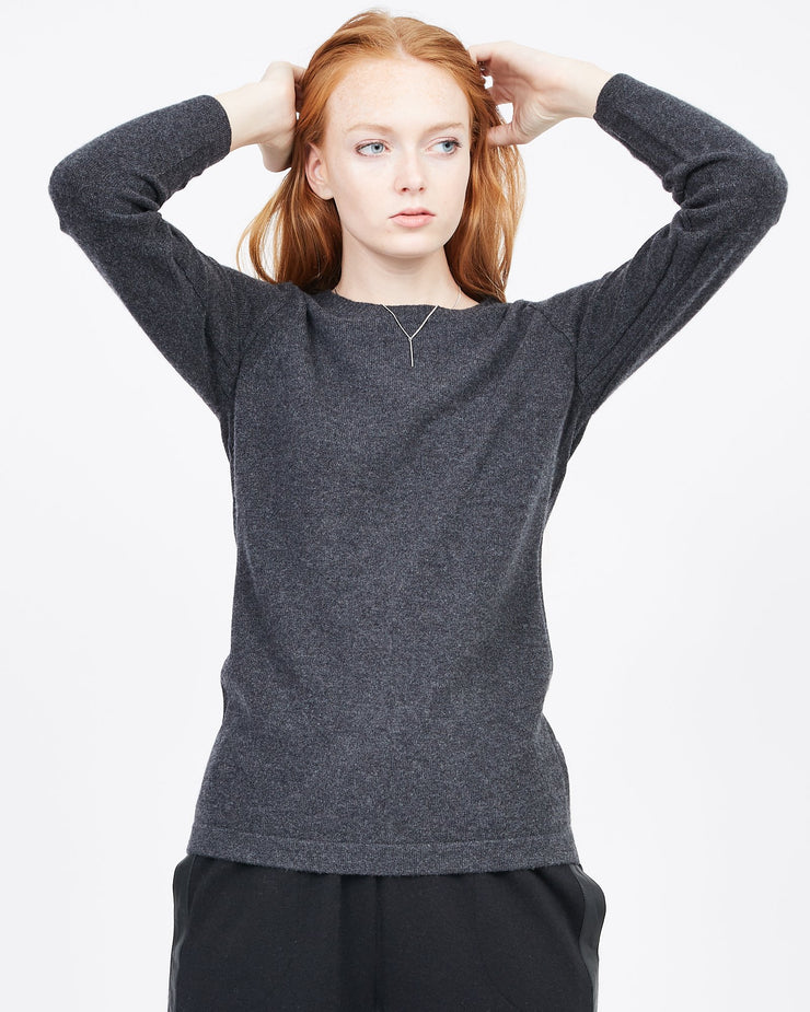 women's cashmere crew neck sweater quinn shop apparel winter fall