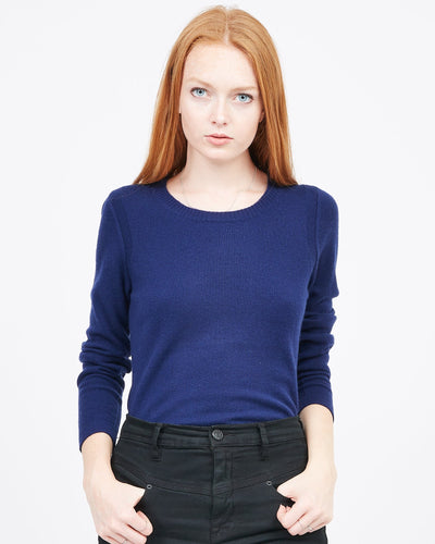 perfect cashmere crew neck sweater