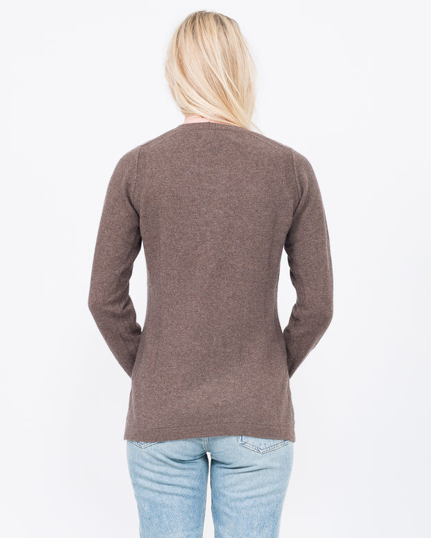 Womens 100% Cashmere basic
