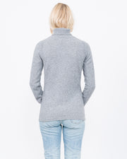 grey essential cashmere t-neck