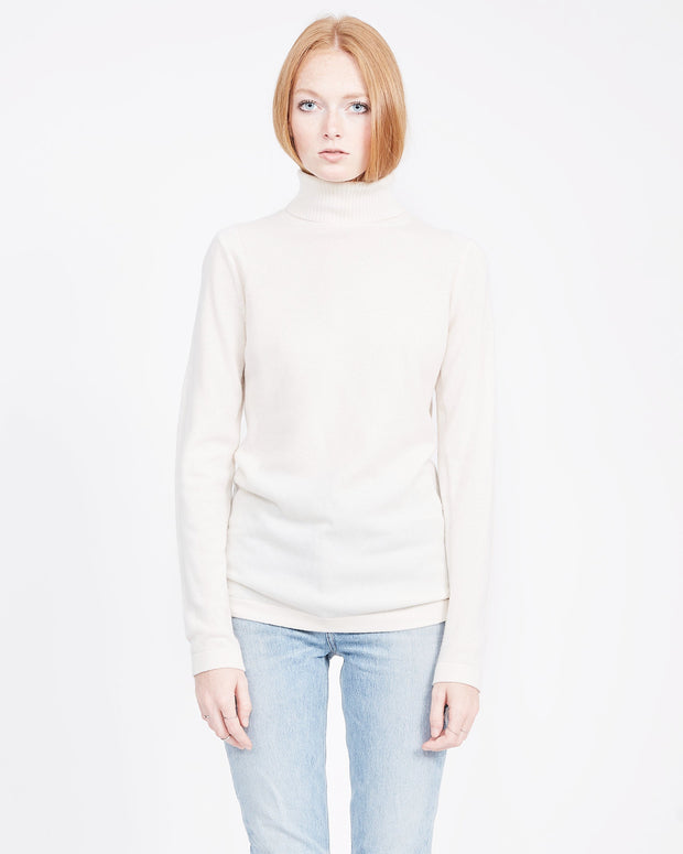 white cashmere base layer