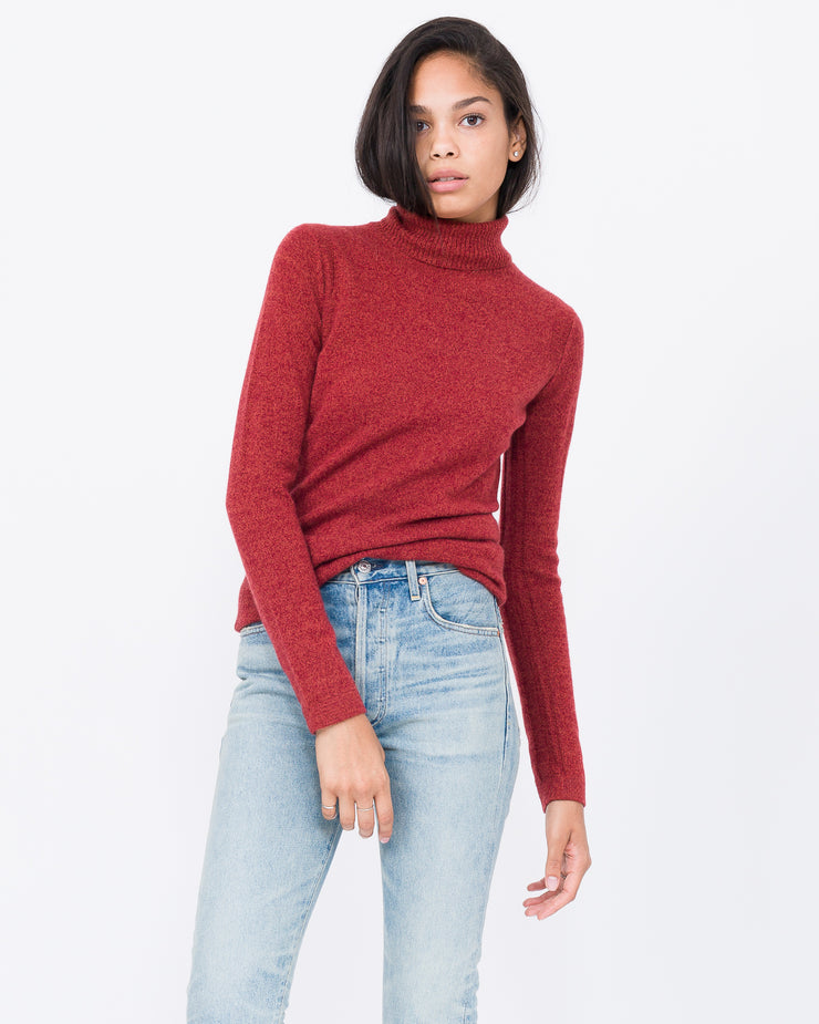 terra-cotta sweater long sleeve