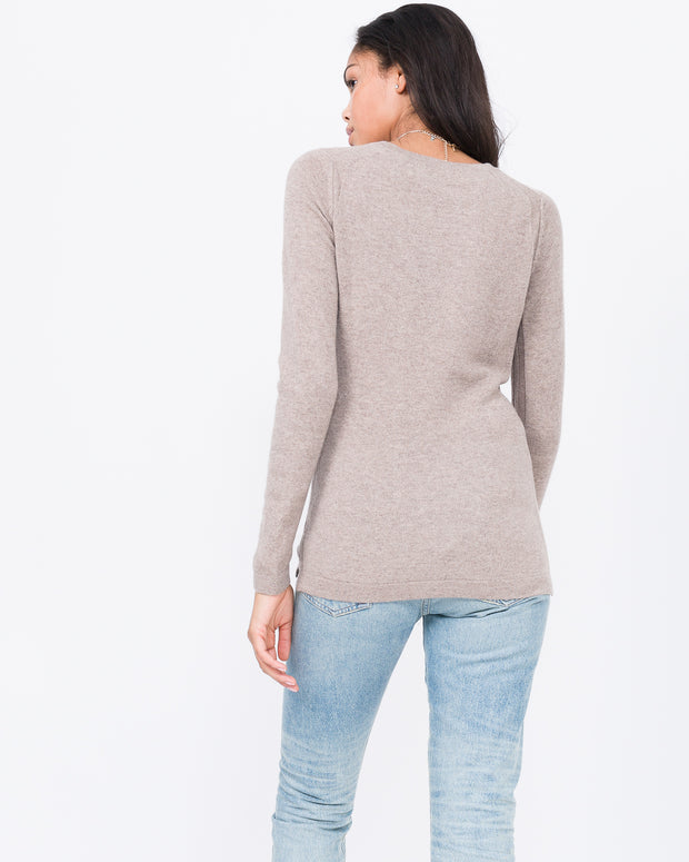 Cashmere V-neck basic
