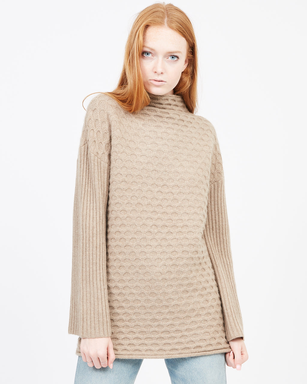 chunky cashmere sweater