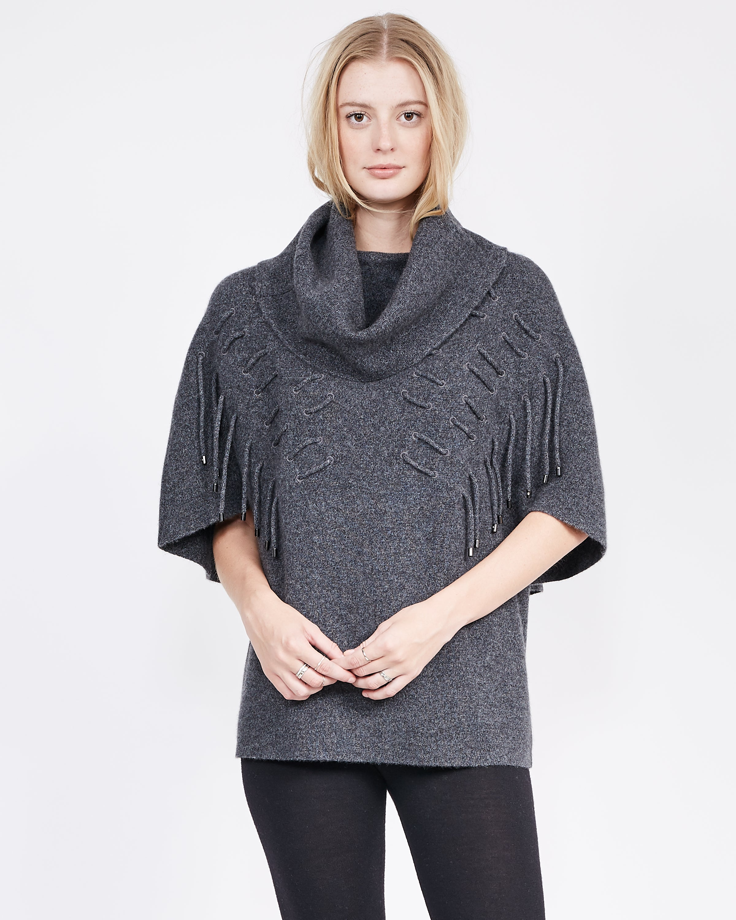 Thirteen Funnel Neck Pullover