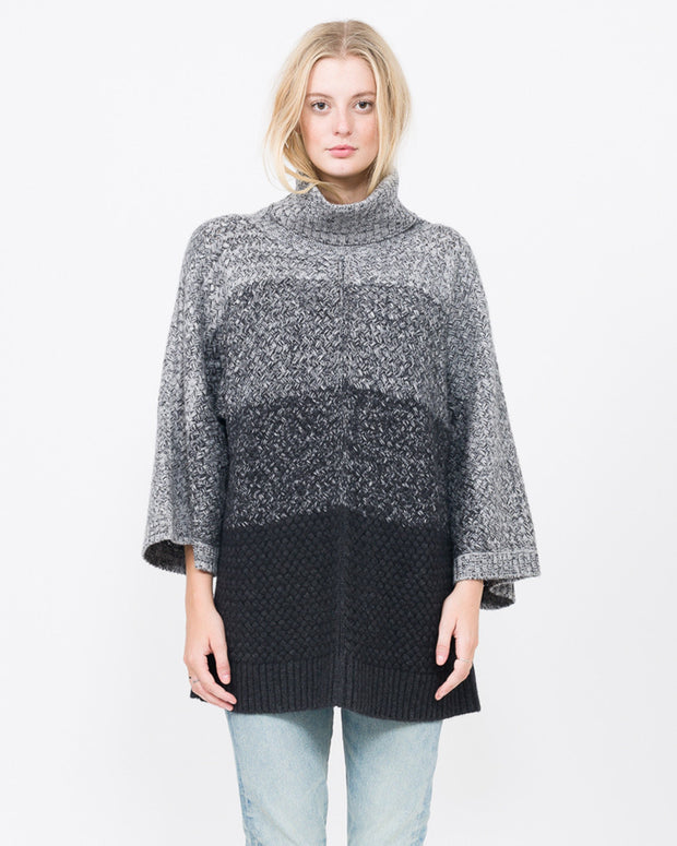 Dolman Sleeve turtle neck