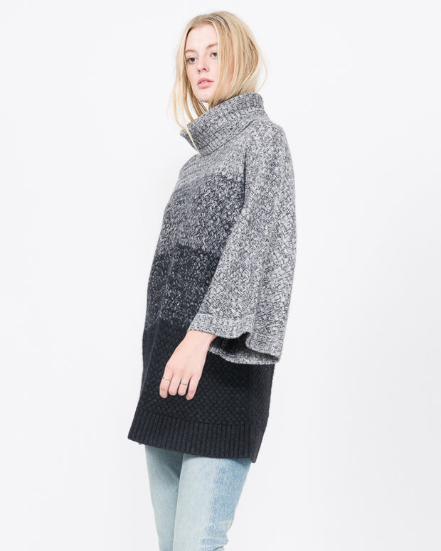 oversized thick cashmere sweater