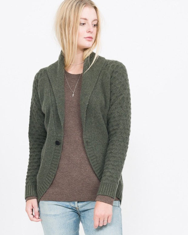 Alma Shawl Collar Cardigan