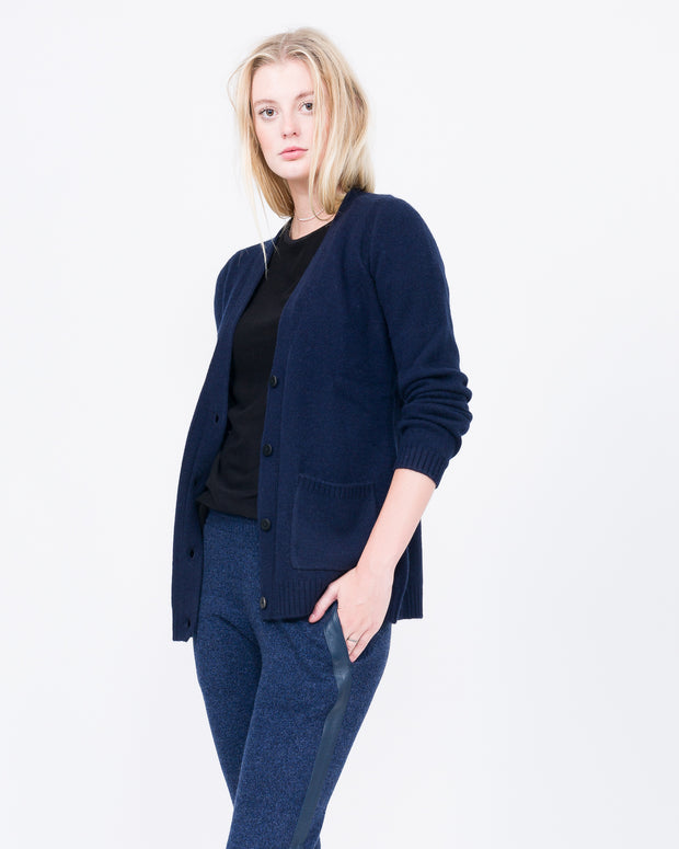 navy best cardigan