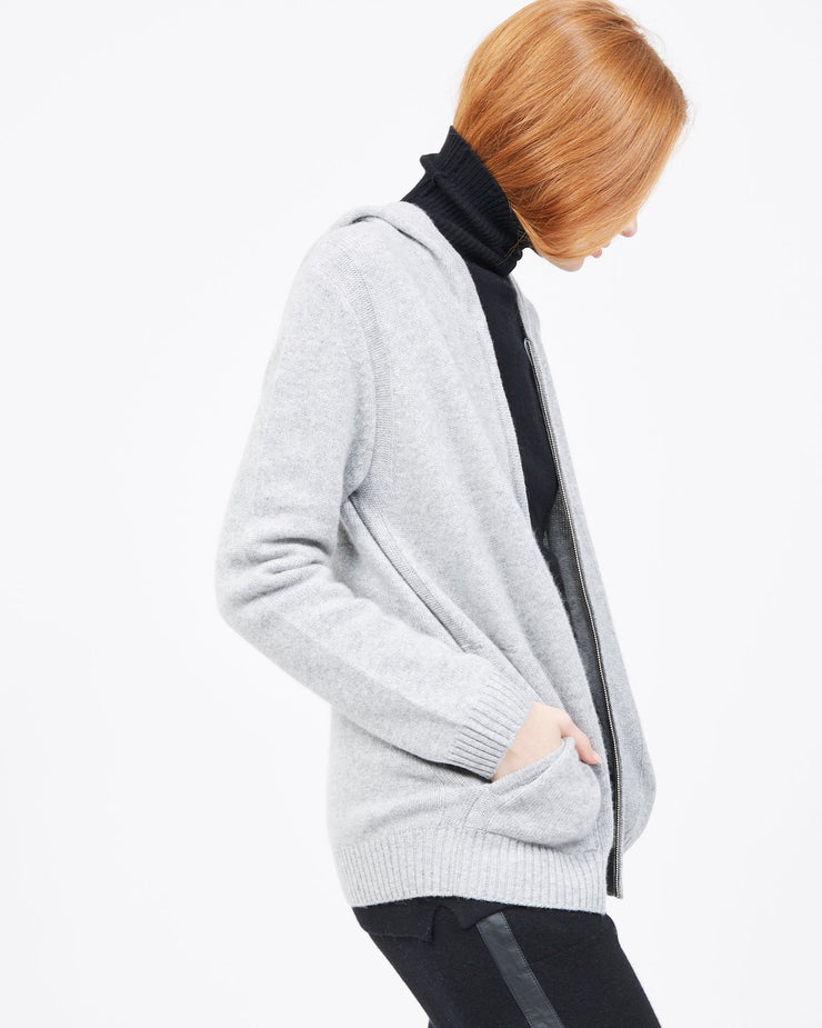Women's cashmere track jacket
