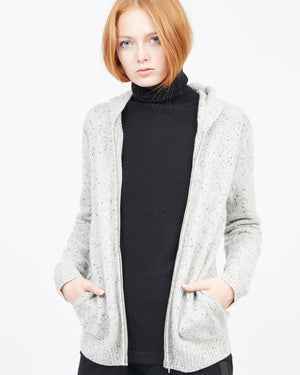 Cashmere zip Up