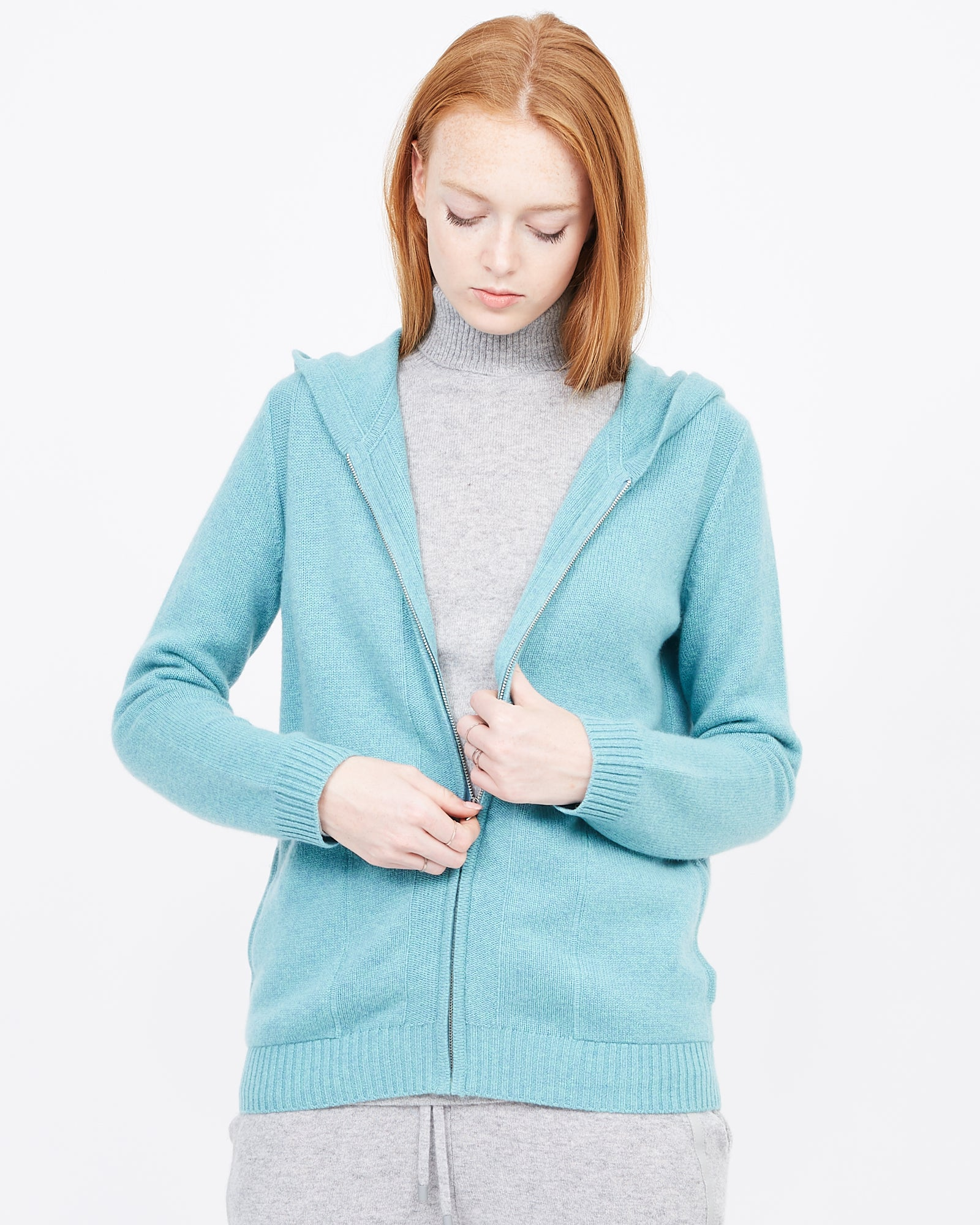 Ellie Essential Cashmere Track Jacket