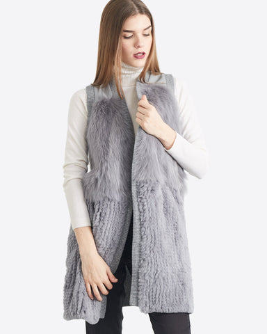 Anna Fur Fly Away Vest