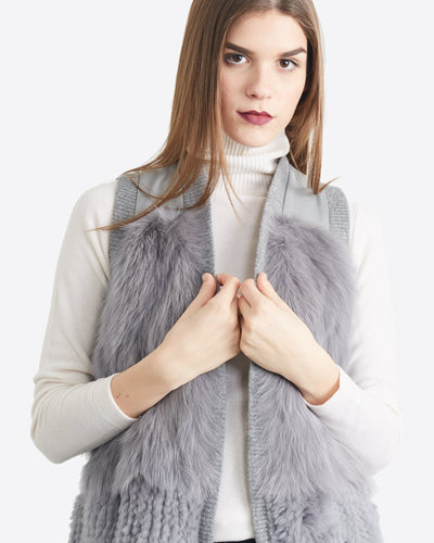 Anna Mixed Fur Vest