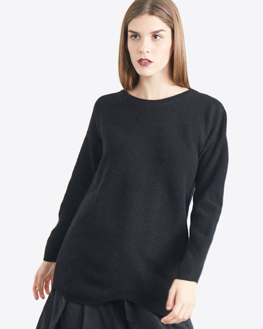 Cortana L/S Cable Tunic
