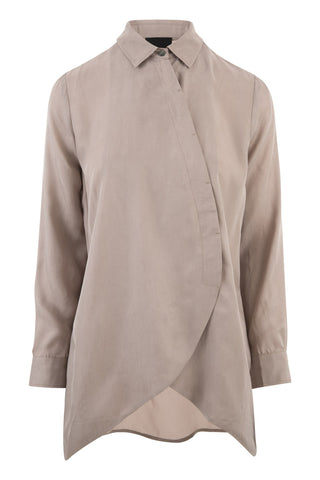 Mabel Cashmere/Leather Cardigan