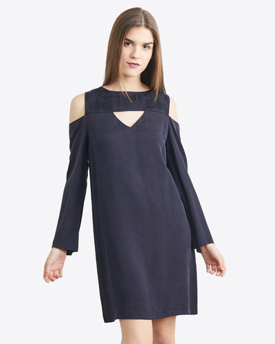 Simona Keyhole Shift Dress