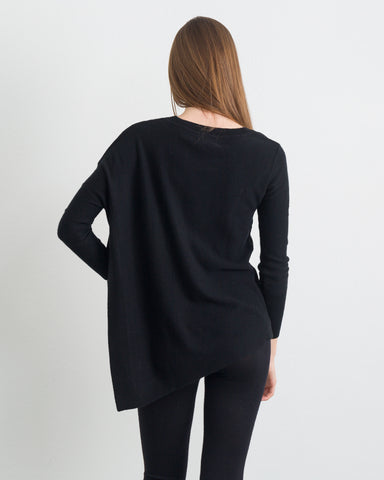 Dita Long Sleeve Asymetrical Top